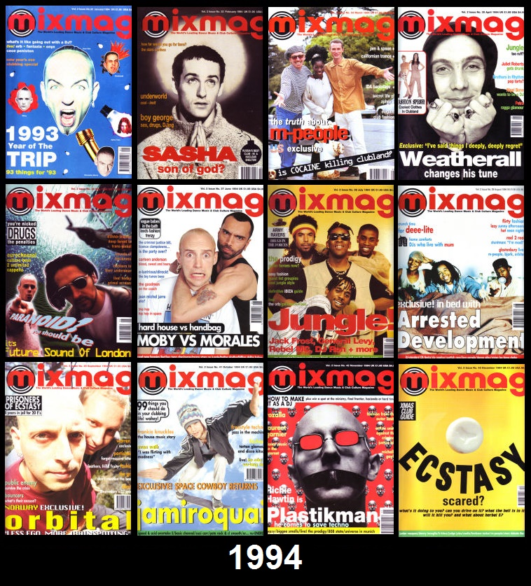 Mixmag Magazine 1988-2003 -- Mixmag Update 1987-1991 -- DJ Magazine