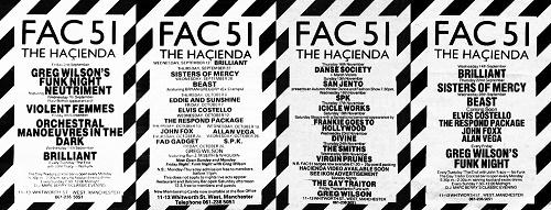 Hacienda Posters