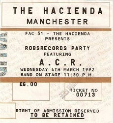 Hacienda ticket