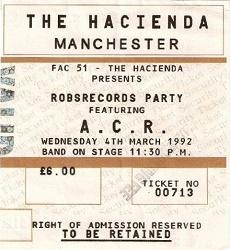 Hacienda ticket